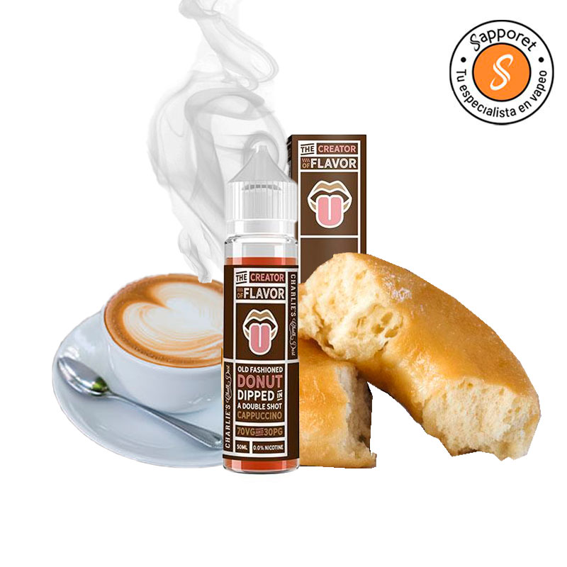 Donut Dipped in a Double Shot Cappucino - Charlie's Chalk Dust 50ml