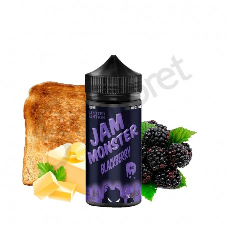 Edición Limitada Mora 100ml - Jam Monster