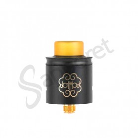 Dotmod - DotRDA Negro 24mm B/F Edición limitada (Logo dorado)