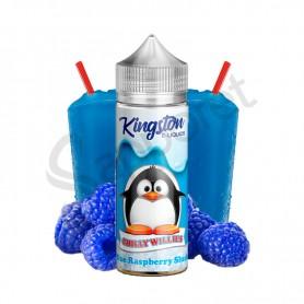 Blue Raspberry Slush 100ml - Kingston Chilly Willies