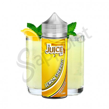 Lemon Sherbet 100ml - The Juice Lab