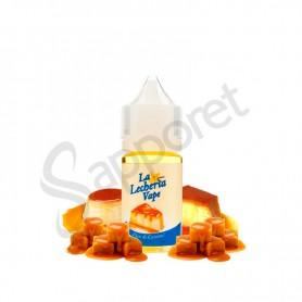 Flan de Caramelo 30ml (Aroma) - La Lecheria Vape