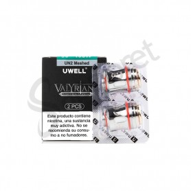 Resistenica UN2-2 Dual Meshed Valyrian II 0.14 Ohm (2pcs) - Uwell