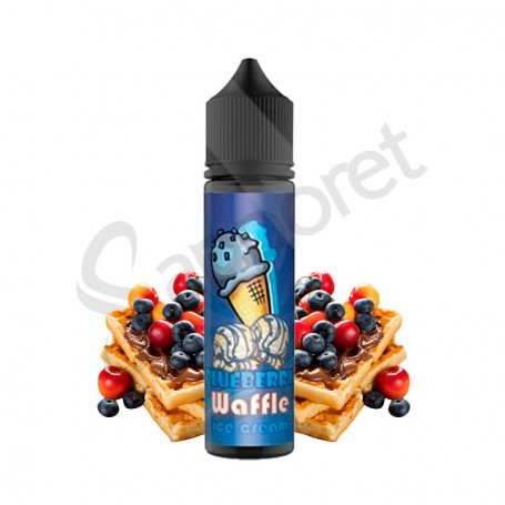 Blueberry Waffle 50ml - Ice Cream
