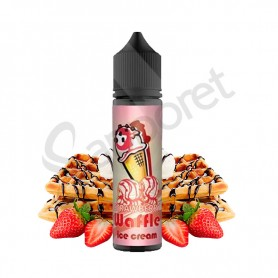 Strawberry Waffle 50ml - Ice Cream