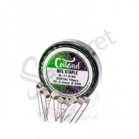 Coiland - MTL Staple (SS316)