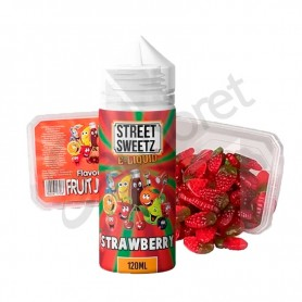 Street Sweets - Strawberry Jellies 100ml + 210g de gominolas