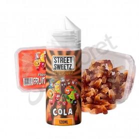 Street Sweets - Cola Bottles 100ml + 210g de gominalas