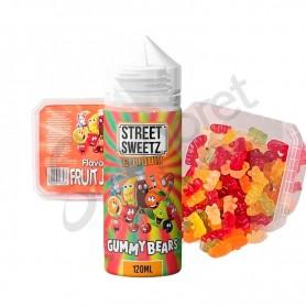 Street Sweets - Gummy Bears 100ml + 210g de gominolas