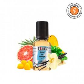 Fantástico aroma para vape de Naranja sanguinia con frutas tropicales y toques de vainilla