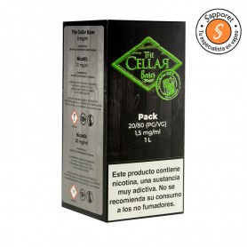 The Cellar Bases - Mix and Go 1L 80/20 1.5mg/ml