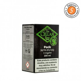 The Cellar Bases - Mix and Go 200ml 70/30 3mg/ml