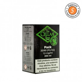 Base 200ml 80/20 1.5mg/ml Mix and Go - The Cellar Bases