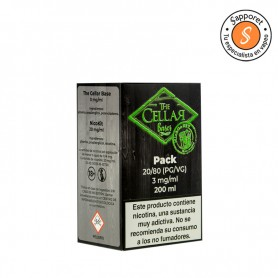 The Cellar Bases - Mix and Go 200ml 80/20 3mg/ml