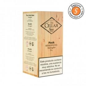 Base Pack de 1L con 1,5mg/ml de nicotina para disfrutar de tu alquimia con un ligero golpe de nicotina