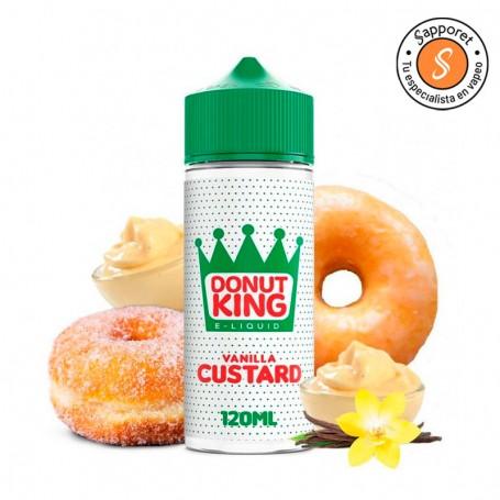 El famoso donut relleno de vainilla ya esta diponible para que lo disfrutes en tu cigarrillo electrónico.