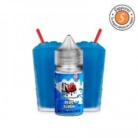Refrescante granizado de frambuesa azul para disfrutar en cualquier momento en tu cigarrillo electrónico.