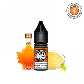 Maple Syrup Custard 10ml - Ultimate Salts