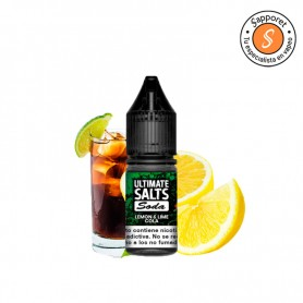 Refresco de cola con lima limón ideal para echar en tu cigarrillo electrónico y disfrutar de este e liquid tan refrescante.