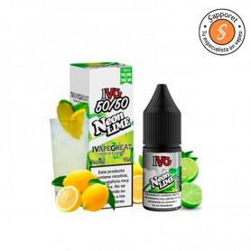 Delicioso y refrescante liquido para vapear de lima y limón para tu cigarrillo electrónico.
