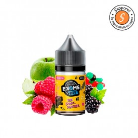 El verdadero aroma tropical, donde predomina la manzana la frambuesa y la mora, ideal para cigarrillo electrónico