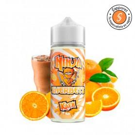 Kaen nos trae naranjas dulces mezcladas con mandarina en un fantástico líquido para vapear de sorbete!