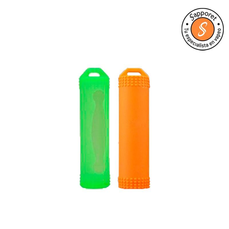 Protege tus baterías 18650 gracias a estas fundas de silicona