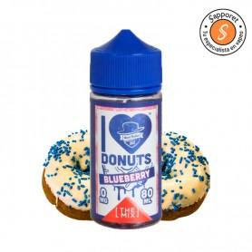 Delicioso donut de arándano con glaseado para tu cigarrillo electrónico. Disfruta de mad hatter e liquid en tu vape diario