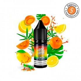 disfruta de esta mezcla refrescante de citricos gracias a la nueva gama de exotic fruit de Just Juice.