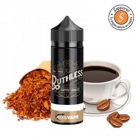 Fantástica mezcla de tabaco y cafe para los amantes de líquidos para vapear clásicos en cigarrillo electrónico.