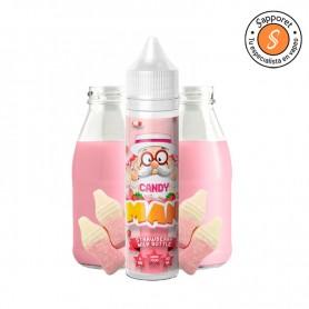Deliciosa gominola de fresa con toque de leche que te encantará, disfrutala en tu cigarrillo electrónico