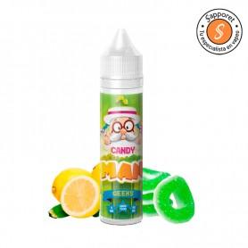 Fantástica combinación de gominola de manzana pica pica y limón pica pica, ideal para disfrutar en tu cigarrillo electrónico