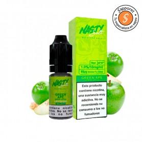 manzana verde dulce y acida al mismo tiempo que te encantará. Disfrutala en tu cigarrillo electrónico favorito.