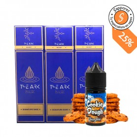 Base The Ark 600ml 20/80 1.5mg/ml + Retro Joes Cookie Dough Aroma - Pack Alquimia