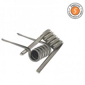 Nueva resistencia artesanal de victory coils creada de la combinación de nichrome 80 y 90 en su nucleo