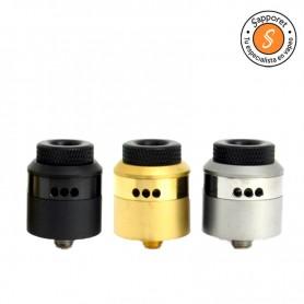An RDA 24mm de Coilturd está en tres colores diferentes.