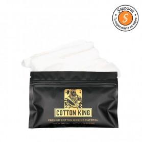 COTTON KING 10G - PREMIUM COTTON WICKING material absorbente y esponjoso.