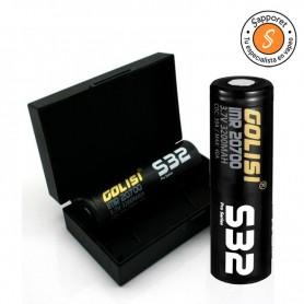 Golisi - 2x Baterías S32 20700 3200mAh 30A CDR pilas de alta duración y fiabilidad.