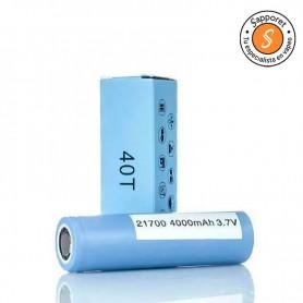 SAMSUNG - 40T 21700 4000MAH 30A una pila de alta calidad.