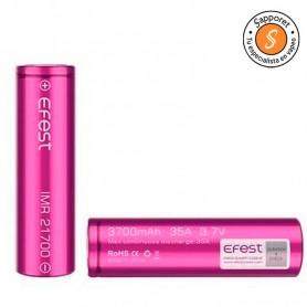 EFEST IMR 21700 3700MAH 35A pilas de alta duración y fiabilidad.