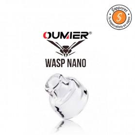 WASP NANO COMPETITION GLASS CAP - TRINITY GLASS HARDWARE con altas funcionalidades para los vapeadores.