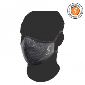 Mascarilla higienica de Sapporet Grey Logo, ideal para protegerte del virus e ir con estilo.