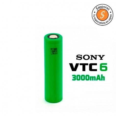ONY VTC6 3000 MAH 30A/15A 18650 ORIGINAL pilas duraderas y de alta calidad.