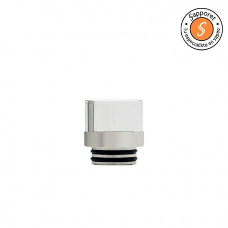 drip 810 en acero inoxidable ideal para personalizar tu atomizador de vapeo.