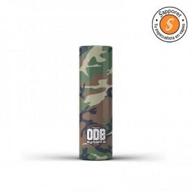 ODB - Camuflaje Verde - Funda retráctil para 18650 (4 unidades) /wraps