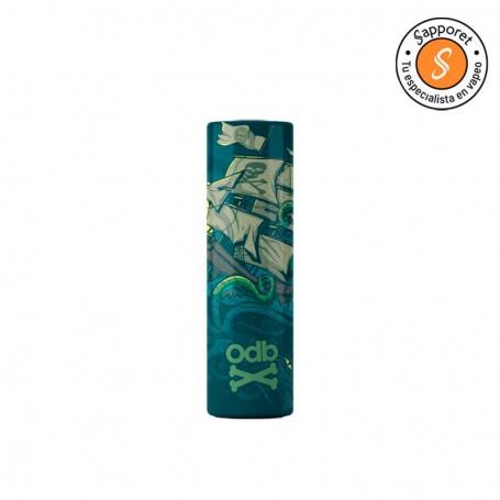 odb wrap x psychomod kraken, diseño fantástico para proteger y personalizar tus baterías de cigarrillo electrónico