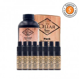 BASE PACK 200ML 20/80 - THE CELLAR BASES crea tu alquimia con lo mejor del mercado