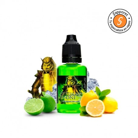 AROMA ONI 30 ML GREEN EDITION – A&L ULTIMATE Aroma con efecto hielo para degustar y repetir.