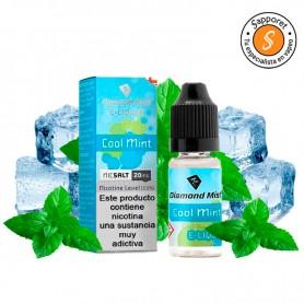 Cool Mint (Menta Fresca) 10ml - 20mg Nic Salt - Diamond Mist deliciosa menta fresca para tu paladar.