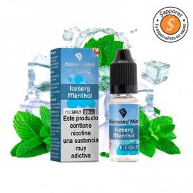 Diamond Mist - ICEBERG Menthol 10ml - 20mg Nic Salt un menthol con efecto frío en sales de nicotina.